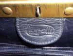 Ανδρική τσάντα vacchetta nero από τον Gilda Tonelli