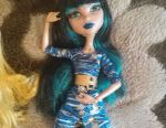 Doll monster high.base Cleo