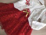 Dress with bolero for girls