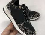 Philipp Plein μαύρα πάνινα παπούτσια