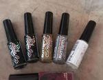 Varnishes for drawing with a thin brush of 8 ml. New