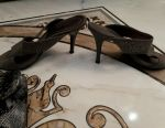 Sandals plus clutch as a gift