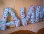 Letters-pillows DIMA