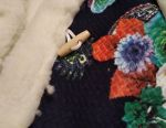 Fur vest. Sleeveless shirt. Jacket