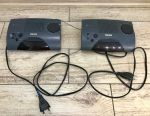 2 pieces Radio-watches, electronic Philips AJ3150