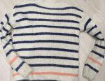 Pulover în formă de panglică și tricou 44-46