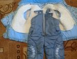 Jacket and overalls winter for the girl