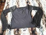 Mesh blouse XS