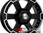 Wheels KiK M56 7x16 PCD 6x139.7 ET 30 DIA 93.10 Diamond Black