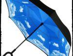Έξυπνη ομπρέλα νέας γενιάς. Ομπρέλα αντίθετα