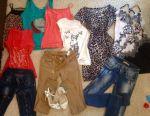 Vânzarea de îmbrăcăminte pentru femei și copii
