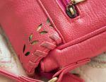 Сумка рожева яскрава днину ремінь