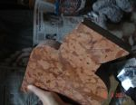 Pieces of marble, onyx and other stones for crafts