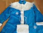 Snow Maiden costume for 6-9 years new