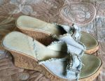 Denim clogs r 38 (Italy)