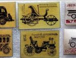 Badges USSR Retro Cars 2 sets