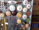 Knob furniture button