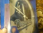 Wall clock new from USA, LA Dodgers