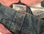 Jeans and two blouses next 86 cm size