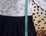 4-5y bir kız için% 95 pamuk örme elbise