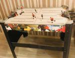 Table hockey game. Needs repair
