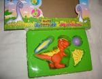 Dinosaur 18 cm, with accessories, turns into 6