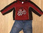 Sweatshirt and jeans 74