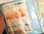 Diaper oilcloth edged