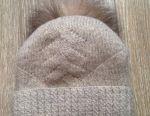 Winter hat 100% wool is very warm