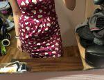 Dress in a heart