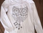 Turtleneck with Owl