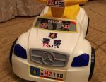 Car tolokar Police. White New. Packaged