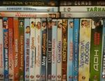 DVD with movies
