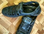 EXCHANGE Sandals Natural Leather