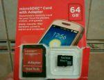 Hafıza Kartı Sandisk (Sandisk) 64 Gb