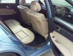 E class, 2010 beige leather