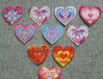Stickers, decoration material
