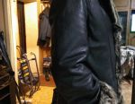 Sheepskin coat genuine time. 52
