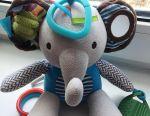 Soft developing toy elephant