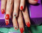 Nail extensions, gel varnish, pedicure, eyelashes