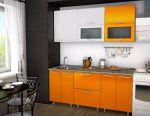 Complete kitchen Orange 180cm