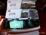 DVR VEHICLE BLACKBOX DVR + κάμερα πίσω