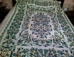 Bedspread on a bed or sofa