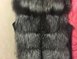 I will sell a silver fox vest size 44