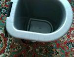 Bucket toilet bowl