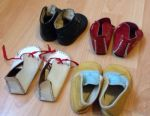 4 pairs of leather shoes of the USSR, vintage. Boots, Czechs