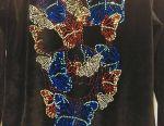 Philipp Plein ❤️Куртка с черепом и бабочками Swar