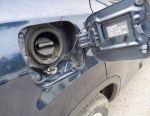Translation of a car on gas Nissan Qashqai