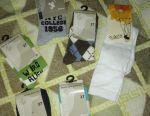 I will give new socks 5pcs + golfs p.26-27
