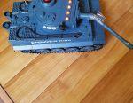 Tank battle radio-controlled